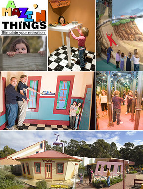 A Maze 'N Things - Accommodation Nelson Bay
