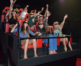 7D Cinema - Virtual Reality - Accommodation Nelson Bay
